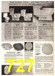 1969 Sears Fall Winter Catalog, Page 727