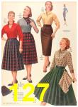 1956 Sears Fall Winter Catalog, Page 127