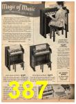 1961 Sears Christmas Book, Page 387