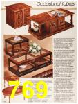 1987 Sears Fall Winter Catalog, Page 769