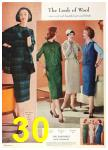 1958 Sears Fall Winter Catalog, Page 30