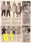 1965 Sears Fall Winter Catalog, Page 61