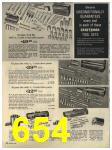 1965 Sears Fall Winter Catalog, Page 654