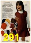 1972 Sears Fall Winter Catalog, Page 291