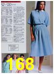 1988 Sears Spring Summer Catalog, Page 168