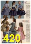 1961 Sears Spring Summer Catalog, Page 420