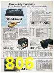 1989 Sears Home Annual Catalog, Page 806