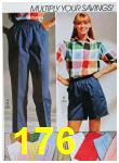 1988 Sears Spring Summer Catalog, Page 176
