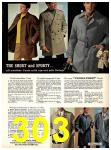 1969 Sears Fall Winter Catalog, Page 303