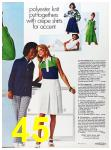 1973 Sears Spring Summer Catalog, Page 45