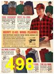 1940 Sears Fall Winter Catalog, Page 498