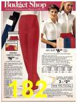 1981 Sears Spring Summer Catalog, Page 182