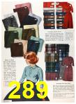 1960 Sears Fall Winter Catalog, Page 289