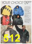 1988 Sears Fall Winter Catalog, Page 512