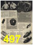 1965 Sears Fall Winter Catalog, Page 497