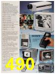 1987 Sears Spring Summer Catalog, Page 490