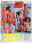 1986 Sears Spring Summer Catalog, Page 287