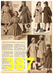 1958 Sears Fall Winter Catalog, Page 387