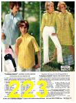 1969 Sears Spring Summer Catalog, Page 223