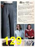 1983 Sears Fall Winter Catalog, Page 129