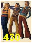 1972 Sears Fall Winter Catalog, Page 430