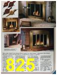 1986 Sears Fall Winter Catalog, Page 825