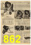 1961 Sears Spring Summer Catalog, Page 862