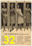 1961 Sears Spring Summer Catalog, Page 32