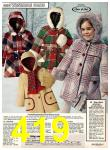 1978 Sears Fall Winter Catalog, Page 419