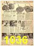 1940 Sears Fall Winter Catalog, Page 1036