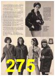 1965 Sears Fall Winter Catalog, Page 275