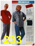 1986 Sears Fall Winter Catalog, Page 233