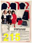 1973 Sears Fall Winter Catalog, Page 215