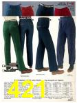 1982 Sears Fall Winter Catalog, Page 421
