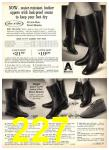 1969 Sears Fall Winter Catalog, Page 227
