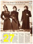 1940 Sears Fall Winter Catalog, Page 27