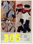 1987 Sears Spring Summer Catalog, Page 305