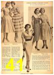 1958 Sears Spring Summer Catalog, Page 41
