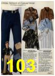 1980 Sears Fall Winter Catalog, Page 103