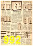 1956 Sears Fall Winter Catalog, Page 992