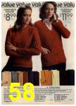 1979 Sears Fall Winter Catalog, Page 58