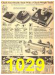 1940 Sears Fall Winter Catalog, Page 1029