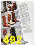 1985 Sears Fall Winter Catalog, Page 492