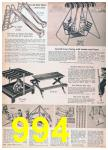 1957 Sears Spring Summer Catalog, Page 994