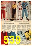 1962 Sears Fall Winter Catalog, Page 539