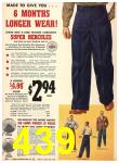 1940 Sears Fall Winter Catalog, Page 439