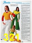 1973 Sears Spring Summer Catalog, Page 321