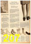 1958 Sears Fall Winter Catalog, Page 207