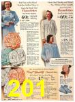 1940 Sears Fall Winter Catalog, Page 201