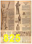 1964 Sears Spring Summer Catalog, Page 825